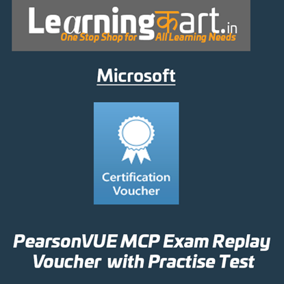 PearsonVUE MCP Exam Replay Voucher with Practise Test